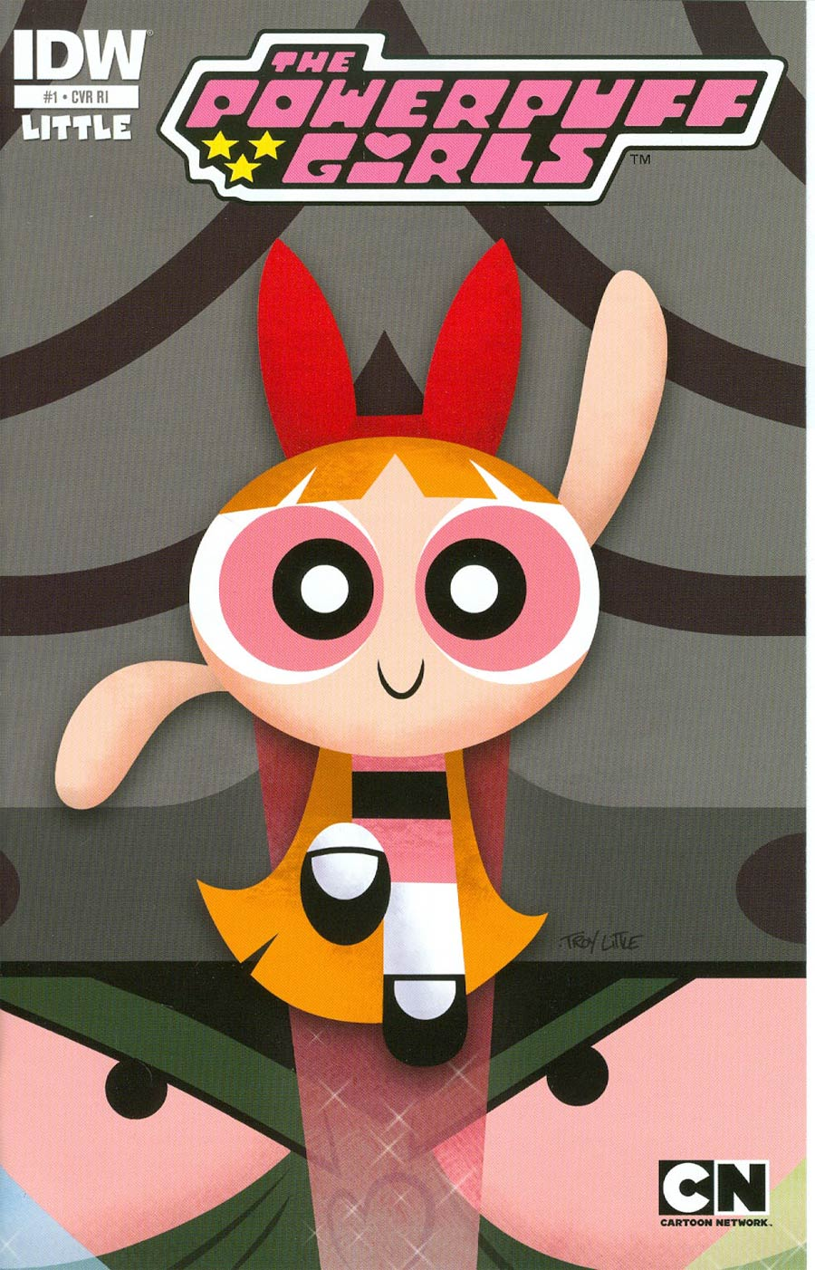Powerpuff Girls Vol 2 #1 Cover F Incentive Troy Little Gatefold Variant Cover