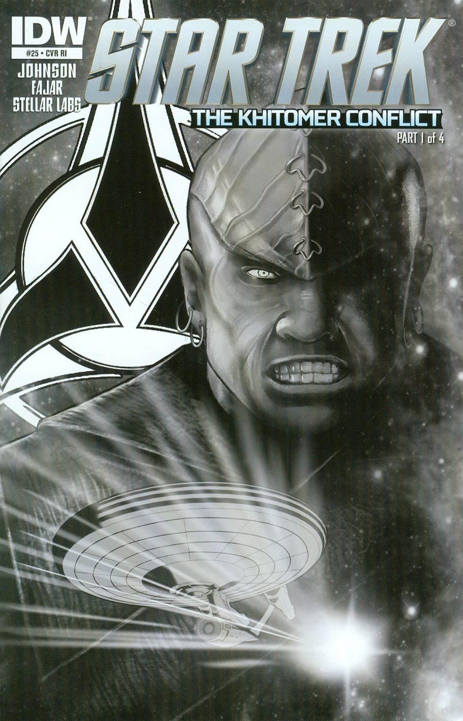 Star Trek (IDW) #25 Cover C Incentive Erfan Fajar Sketch Cover