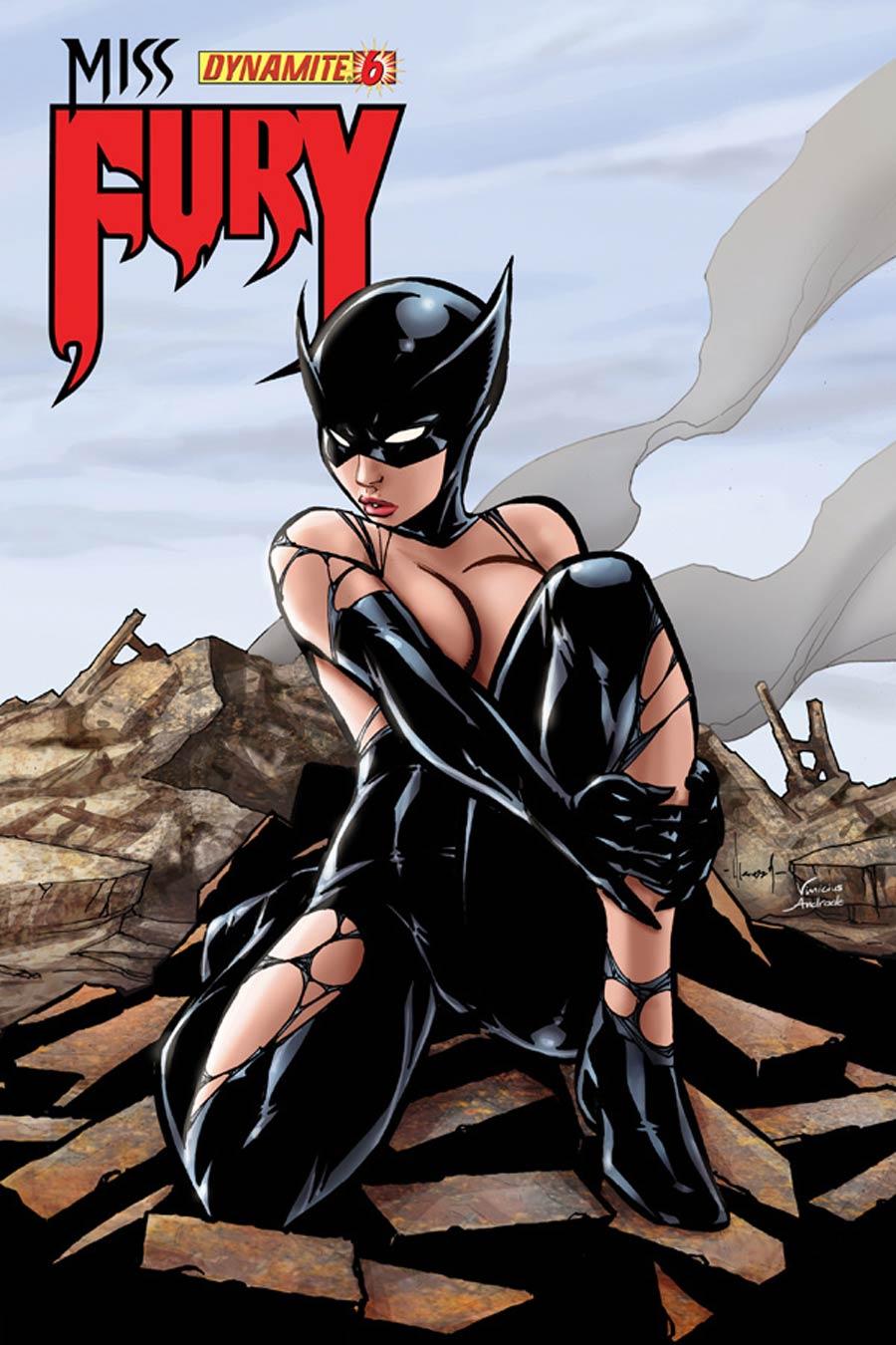 Miss Fury Vol 2 #6 Cover E Incentive Ale Garza Risque Variant Cover
