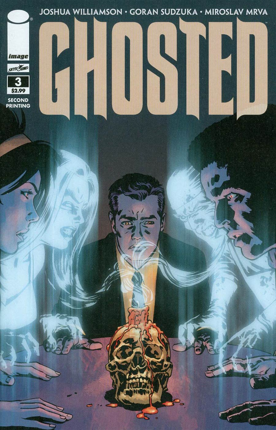 Ghosted #3 2nd Ptg