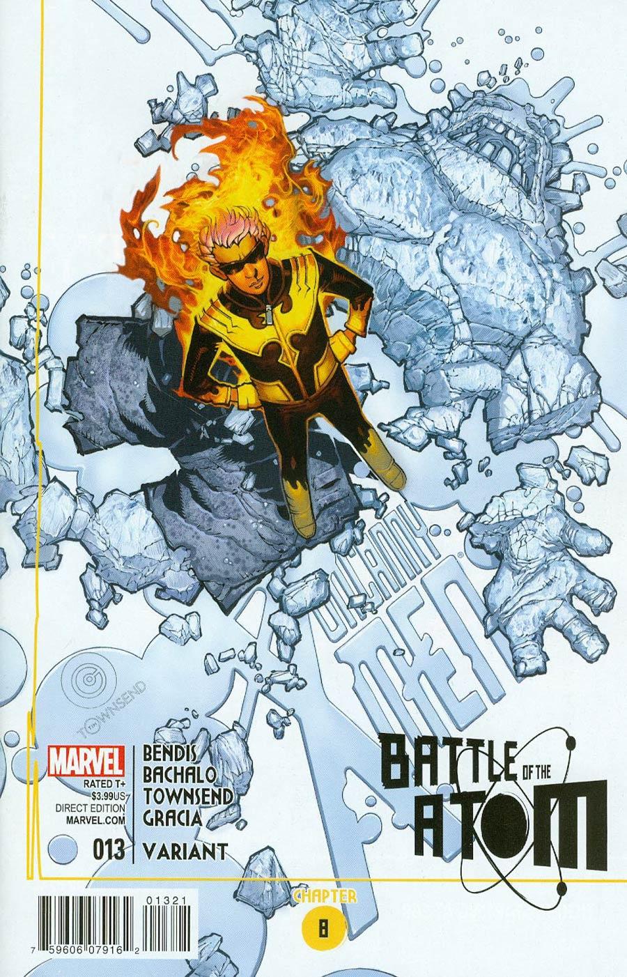 Uncanny X-Men Vol 3 #13 Cover B Incentive Chris Bachalo Variant Cover (Battle Of The Atom Part 8)