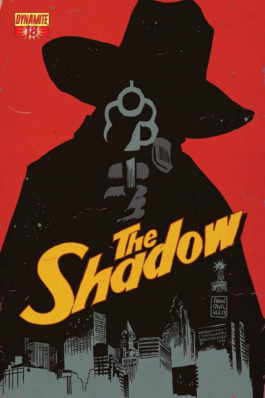 Shadow Vol 5 #18 Cover D Variant Francesco Francavilla Cover