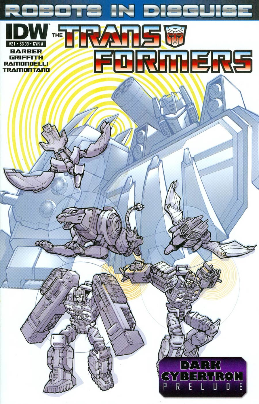 Transformers Robots In Disguise #21 Cover A Regular Andrew Griffith Cover (Dark Cybertron Prelude)