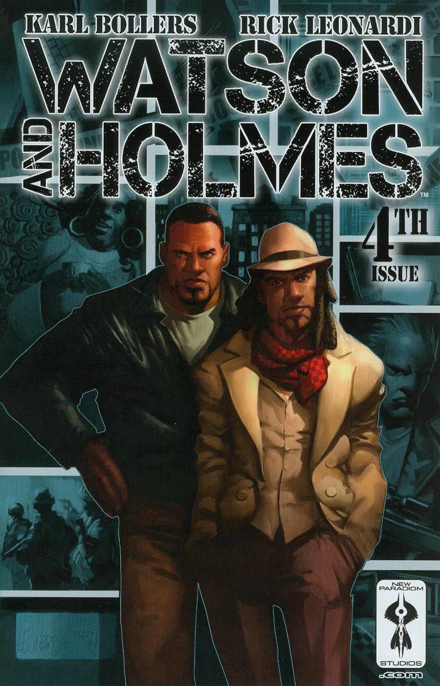 Watson And Holmes #4 Cover A Regular Rick Leonardi Color Cover