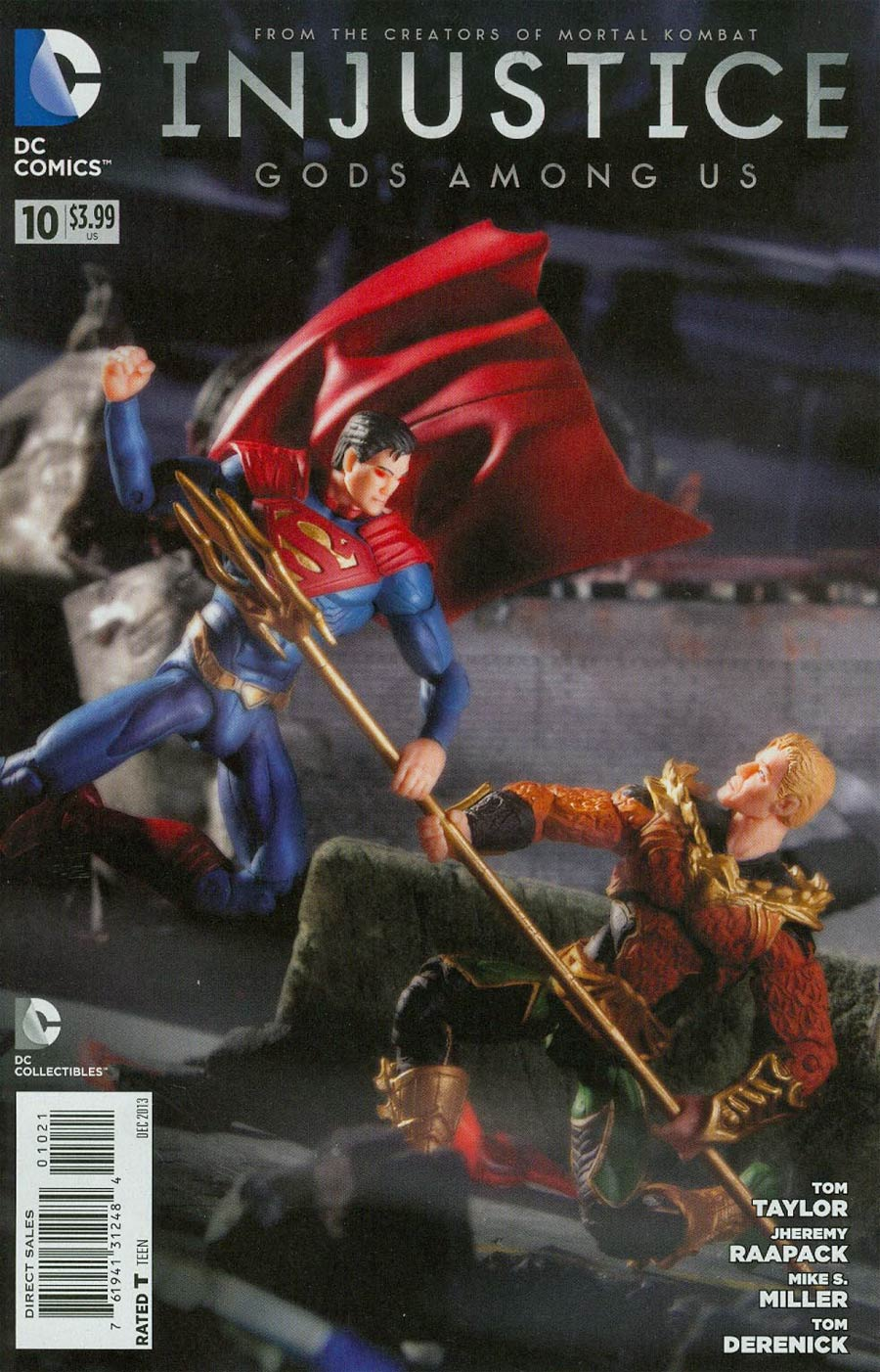 Injustice Gods Among Us #10 Cover B Incentive DC Collectibles Photo Variant Cover