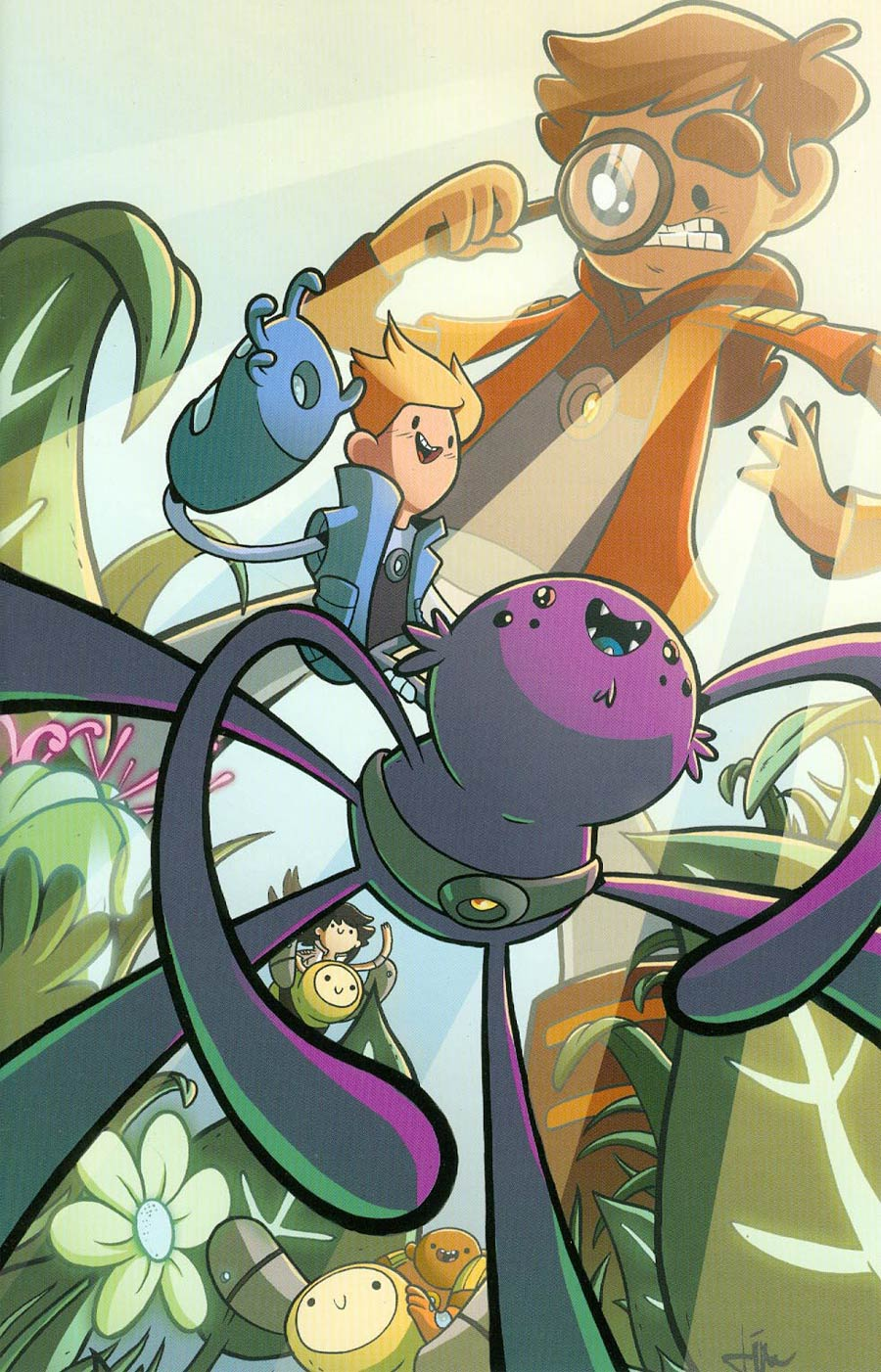 Bravest Warriors #13 Cover C Incentive Ian McGinty Virgin Variant Cover