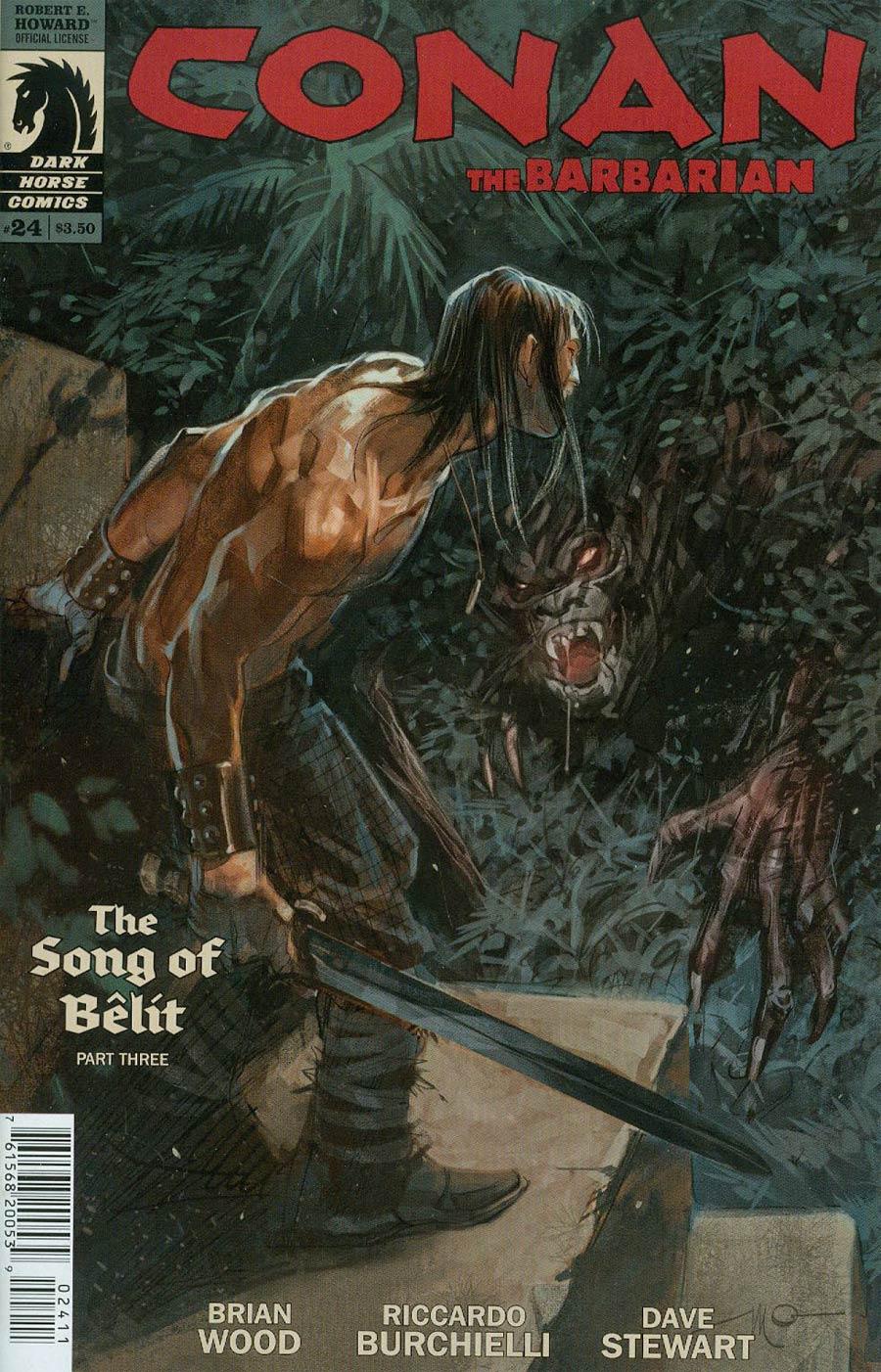 Conan The Barbarian Vol 3 #24