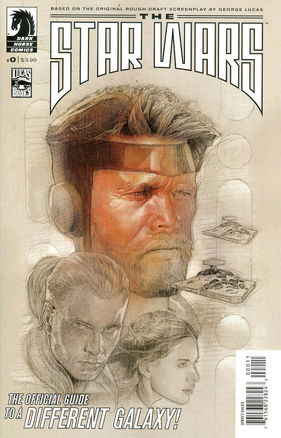 Star Wars The George Lucas Draft #0 Cover A Regular Nick Runge Cover