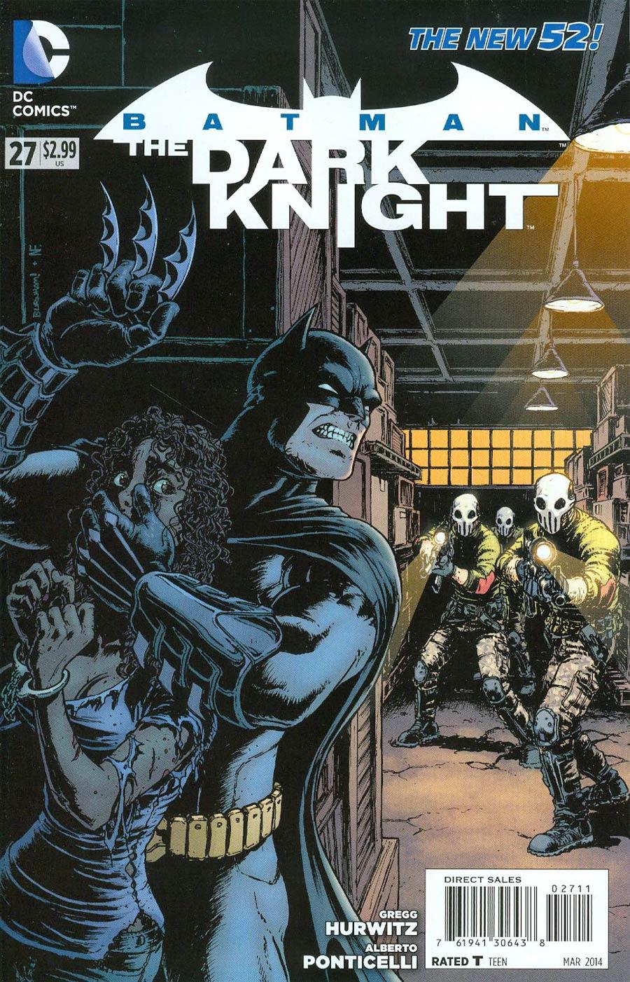 Batman The Dark Knight Vol 2 #27 Cover A Regular Chris Burnham Cover