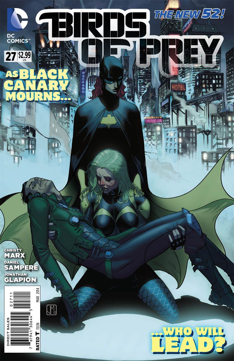 Birds Of Prey Vol 3 #27 (Gothtopia Tie-In)