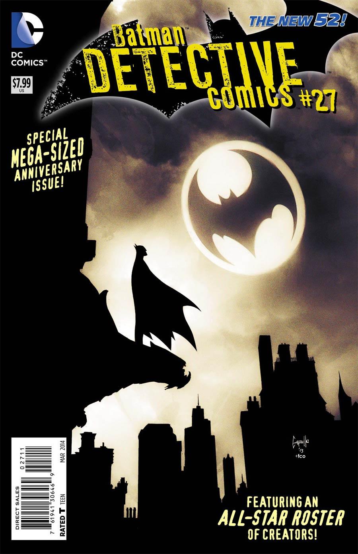 Detective Comics Vol 2 #27 Cover A Regular Greg Capullo Cover (Gothtopia Tie-In)