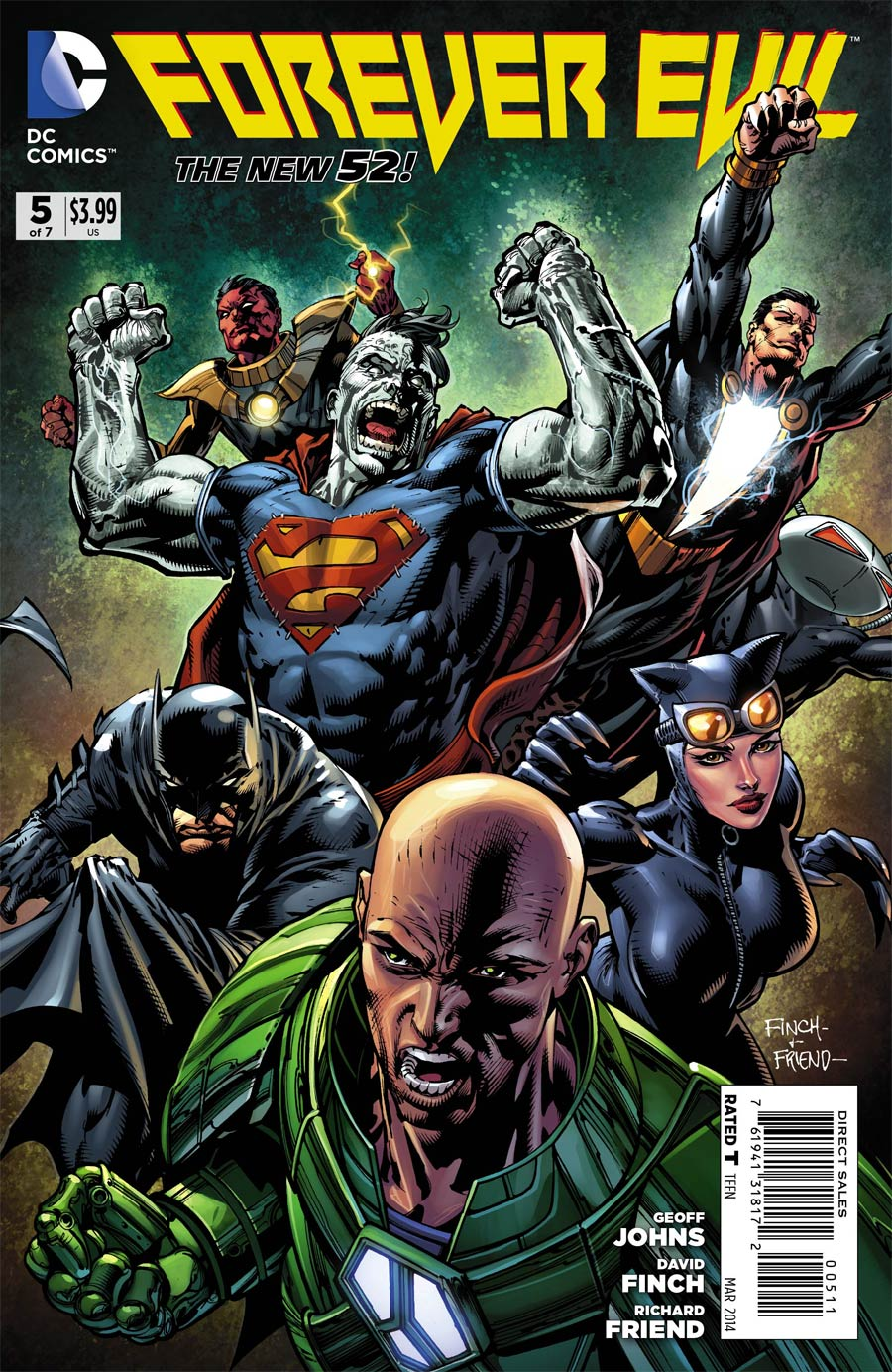 Forever Evil #5 Cover A Regular David Finch Cover