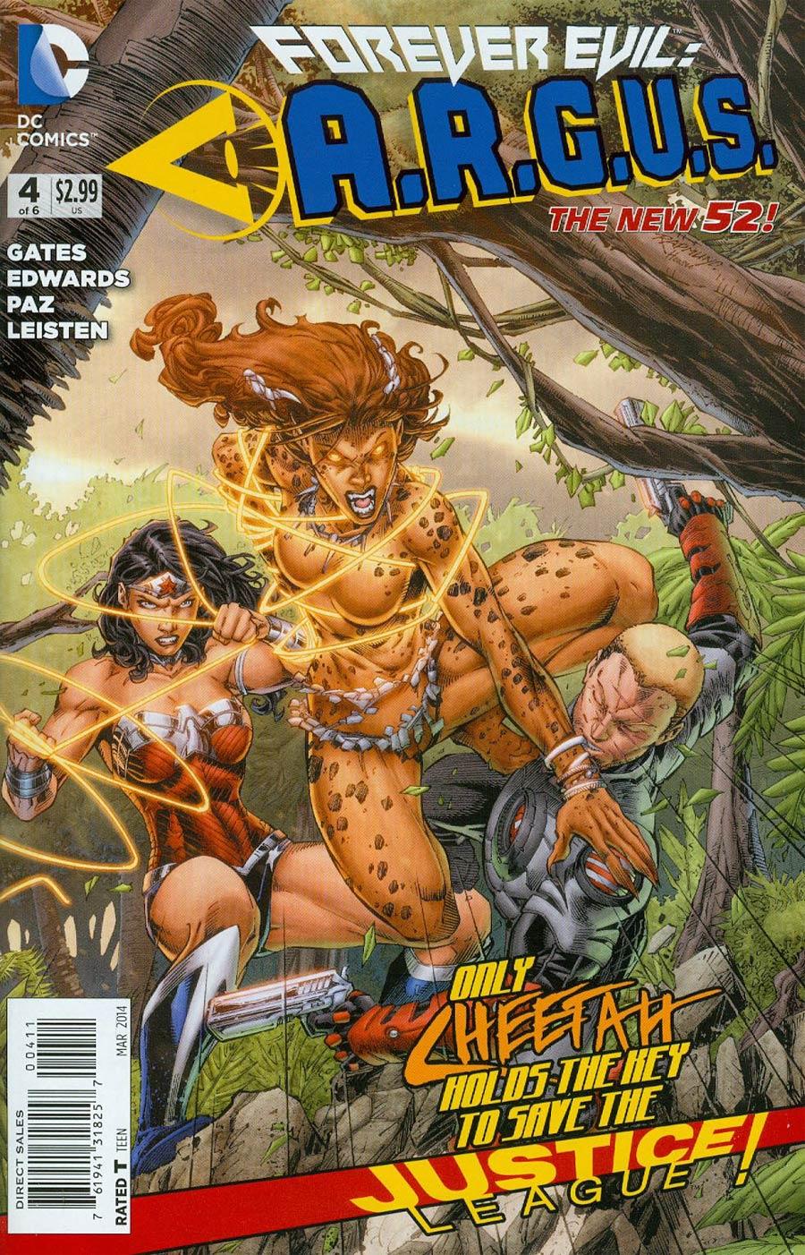 Forever Evil A.R.G.U.S. #4 Cover A Regular Brett Booth Cover