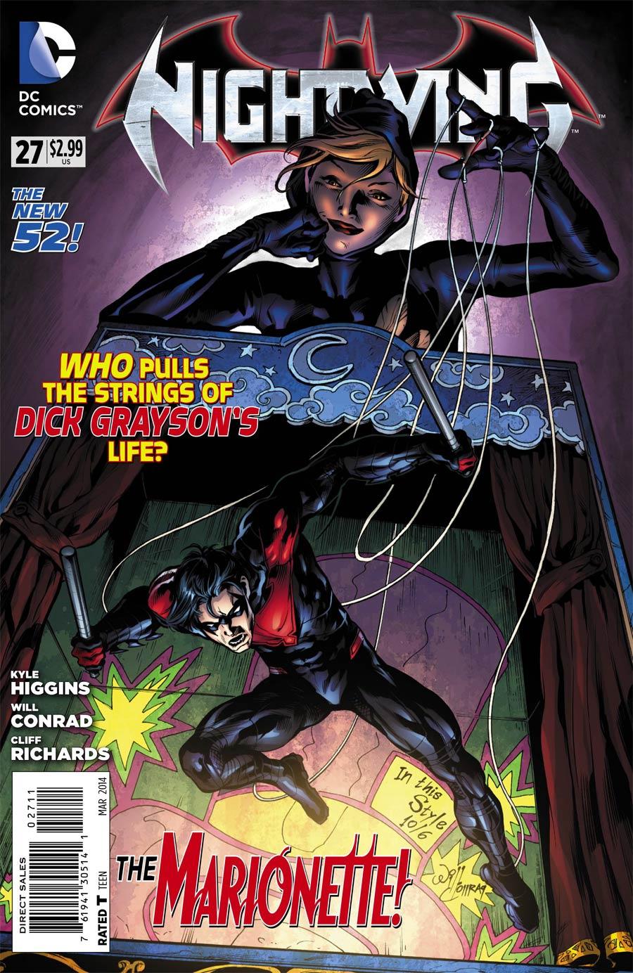 Nightwing Vol 3 #27 Cover A Regular Will Conrad Cover