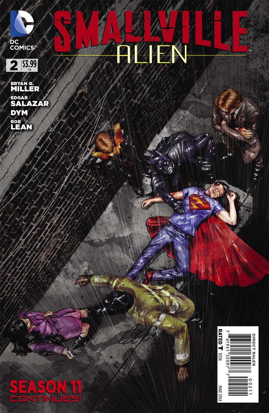 Smallville Season 11 Alien #2