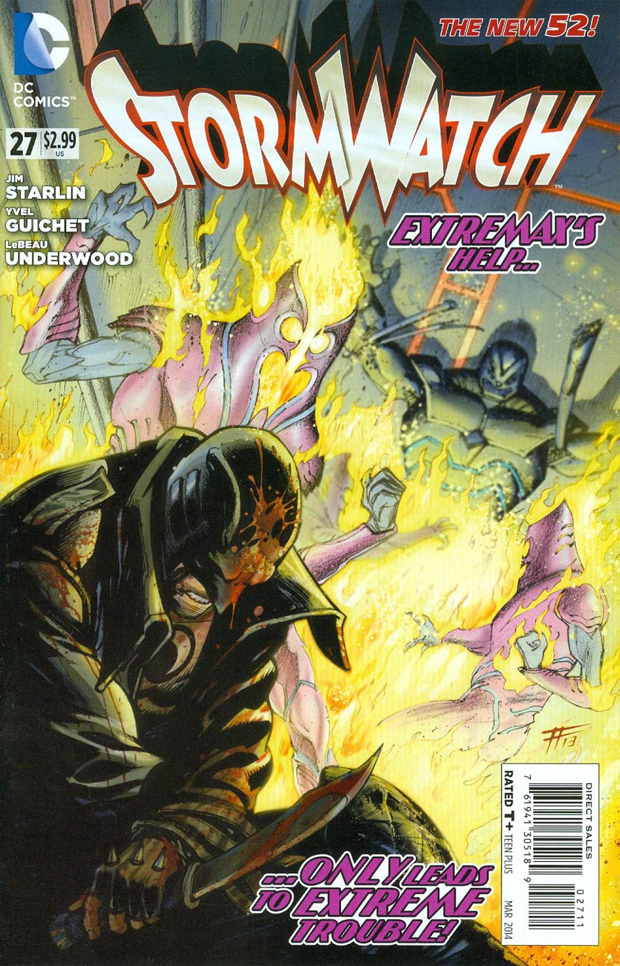 Stormwatch Vol 3 #27