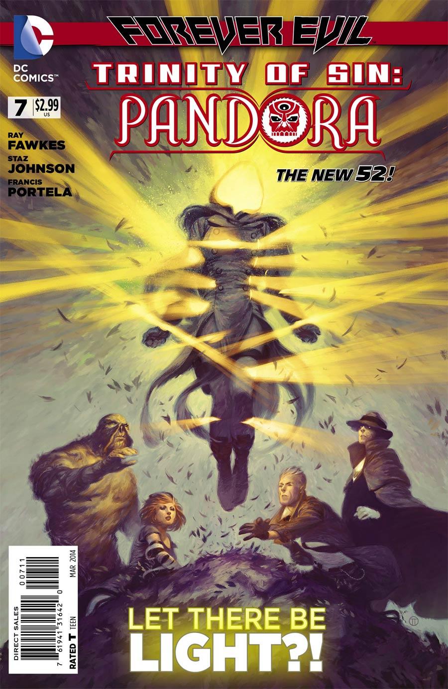 Trinity Of Sin Pandora #7 (Forever Evil Tie-In)