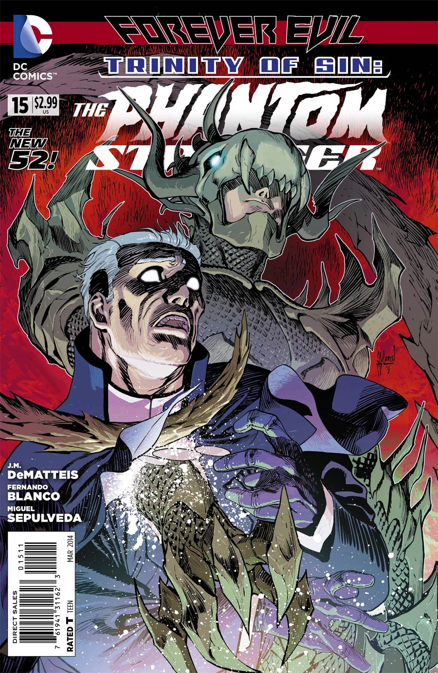 Trinity Of Sin Phantom Stranger #15 (Forever Evil Tie-In)