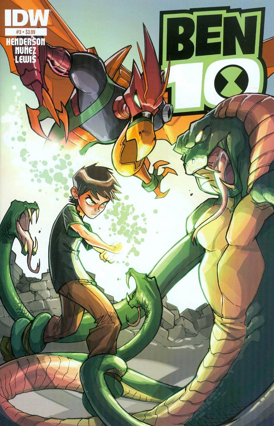 Ben 10 #3 Cover A Regular Eddie Nunez Cover