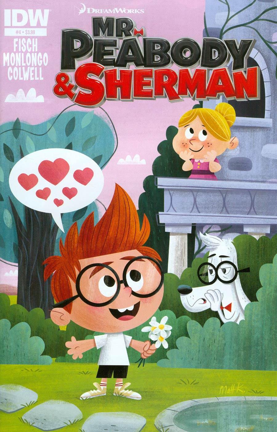 Mr Peabody & Sherman #4 Cover A Regular Matt Kaufenberg Cover