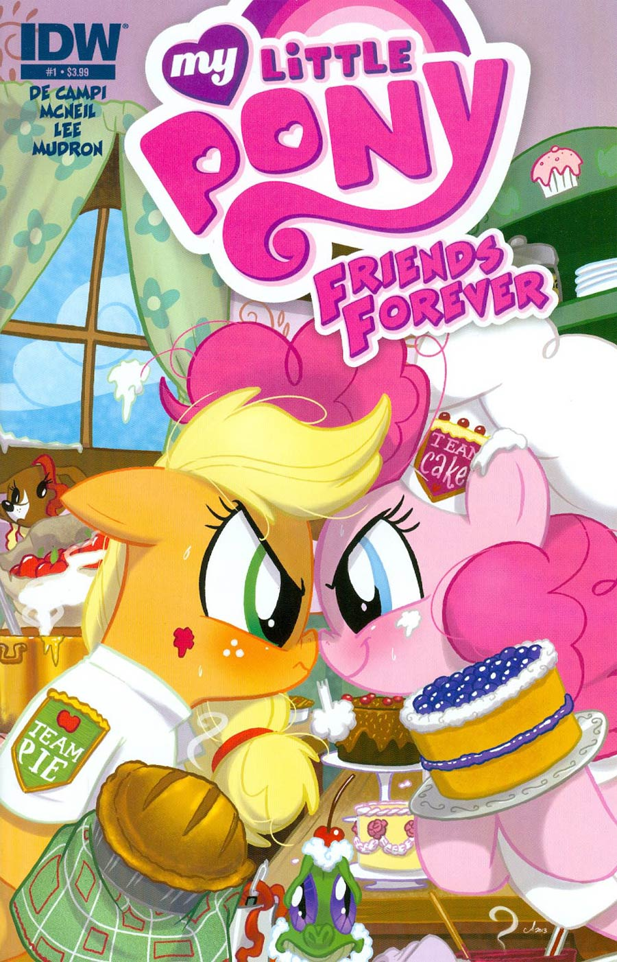 My Little Pony Friends Forever #1 Cover A Regular Amy Mebberson Cover