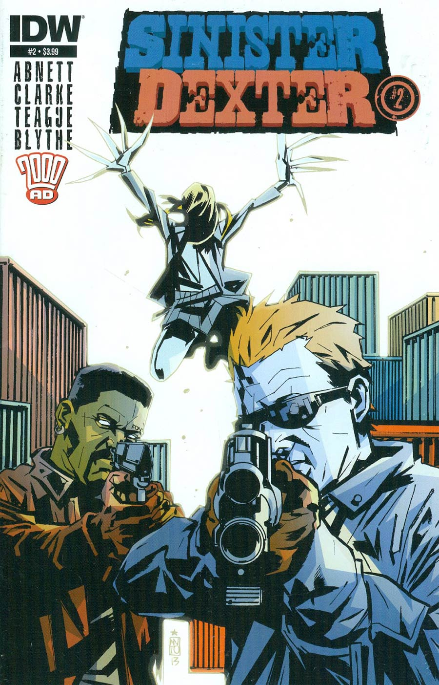 Sinister Dexter #2 Cover A Regular Antonio Fuso Cover