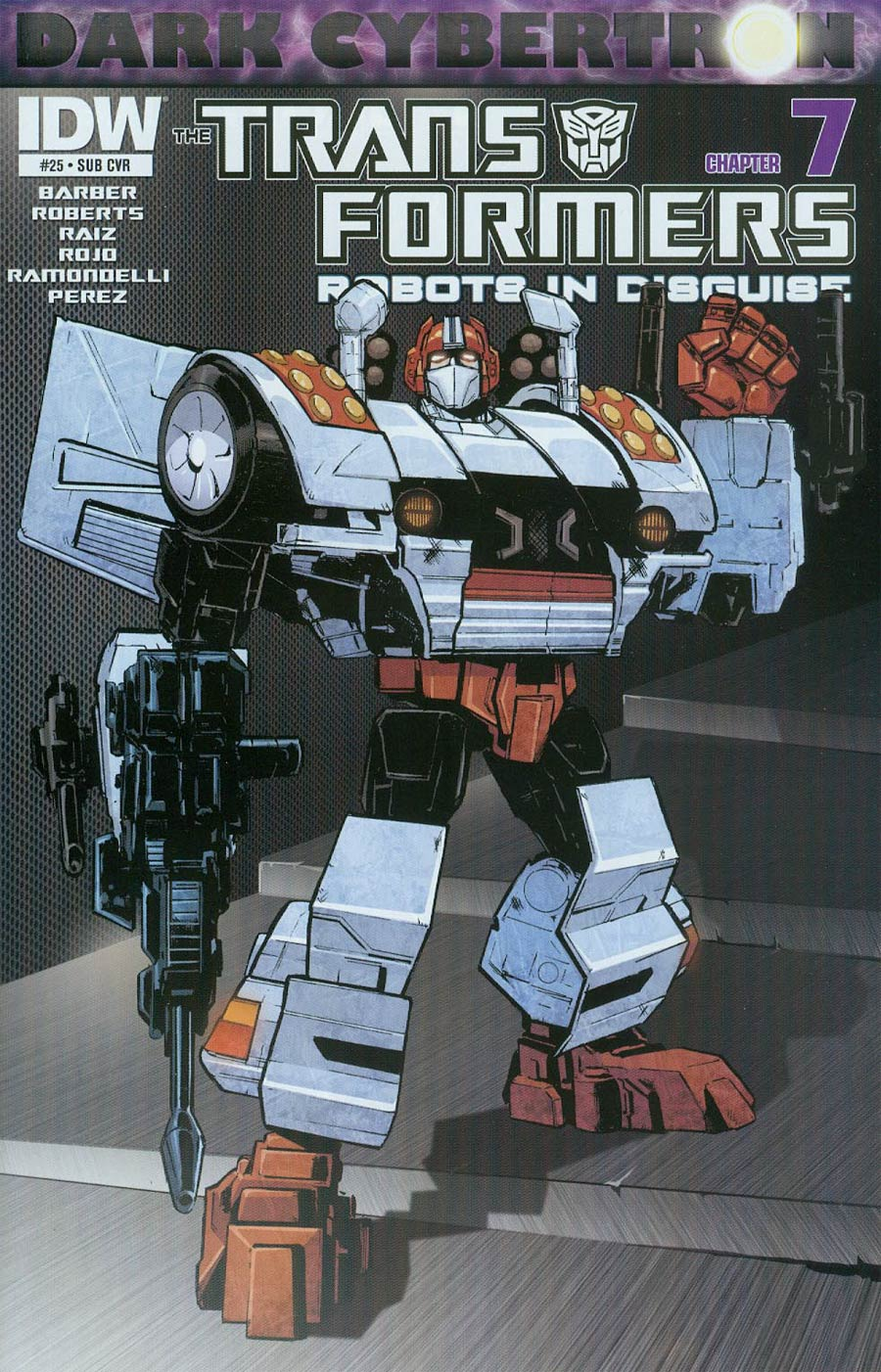 Transformers Robots In Disguise #25 Cover B Variant Phil Jimenez Subscription Cover (Dark Cybertron Part 7)