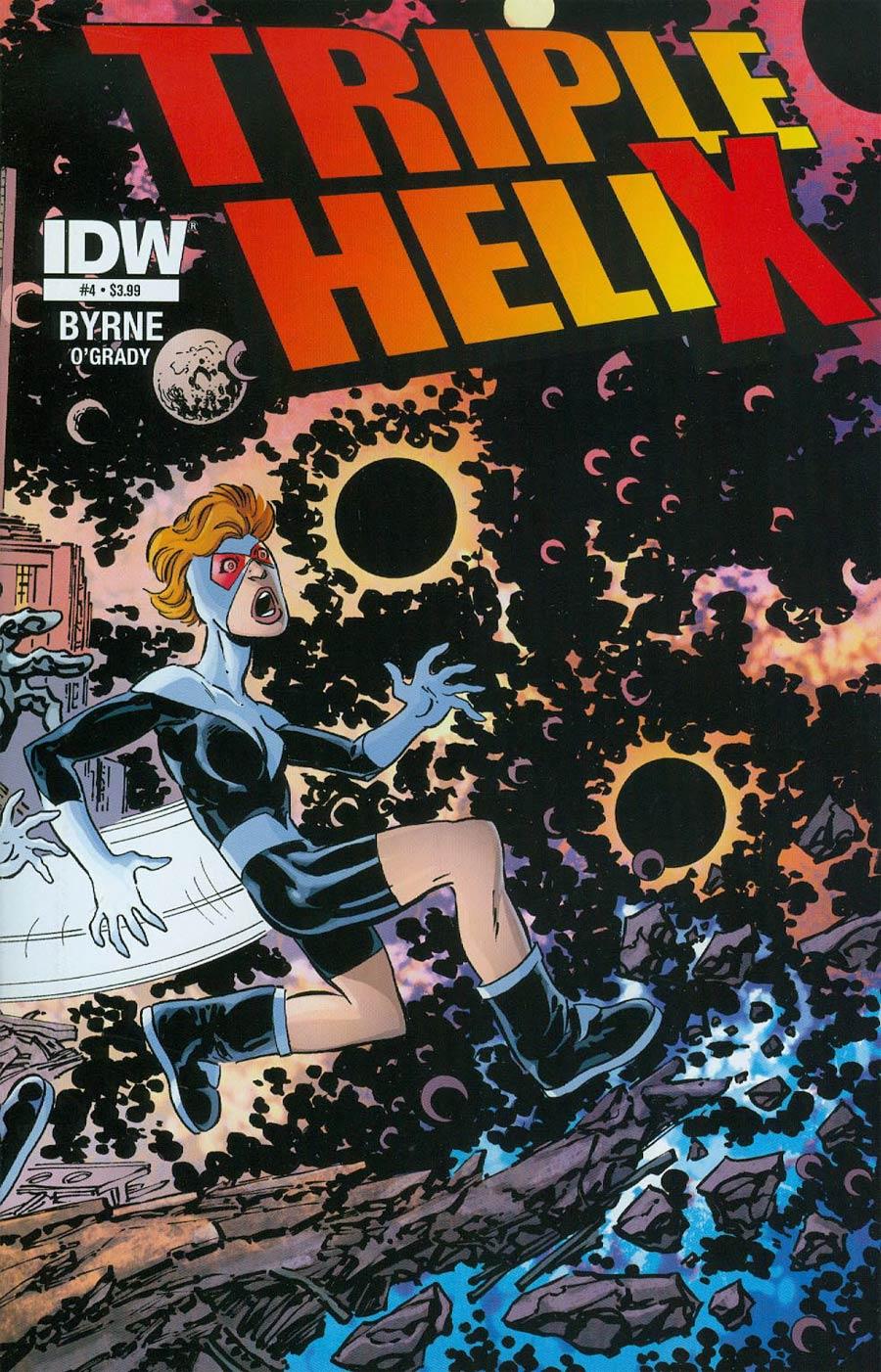 Triple Helix #4 Cover A Regular John Byrne Cover