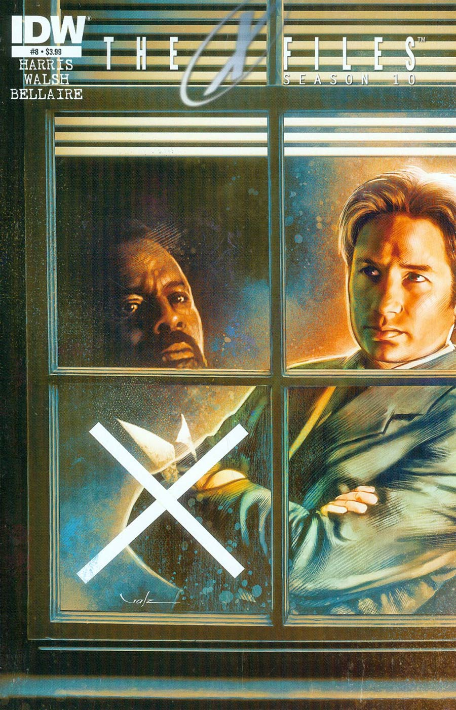 X-Files Season 10 #8 Cover A Regular Carlos Valenzuela Cover