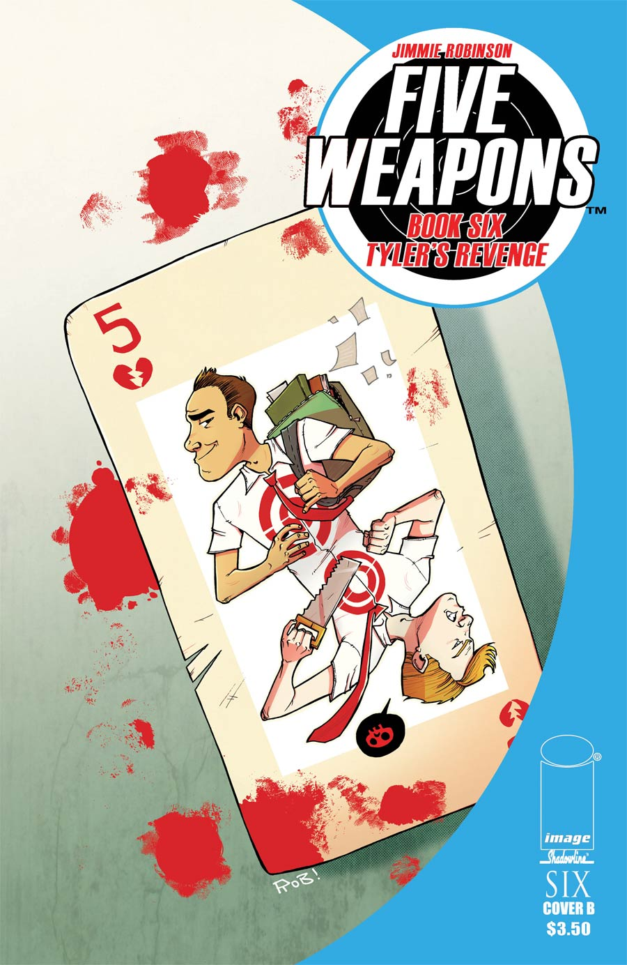 Five Weapons #6 Cover B Rob Guillory