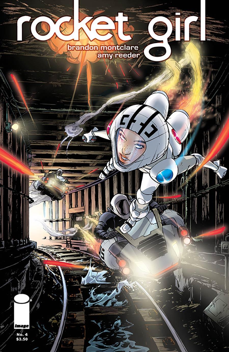 Rocket Girl #4