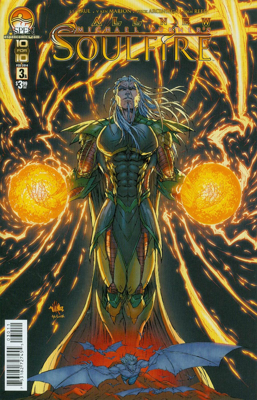 All New Soulfire #3 Cover A Regular Direct Market Cover