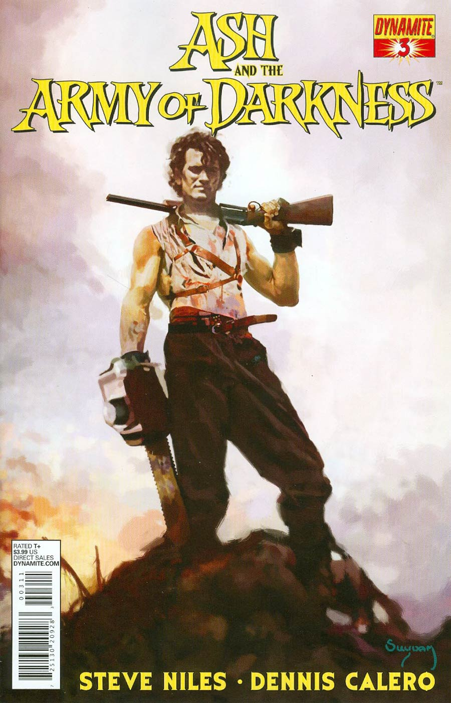 Ash And The Army Of Darkness #3 Cover A Regular Ben Templesmith Cover
