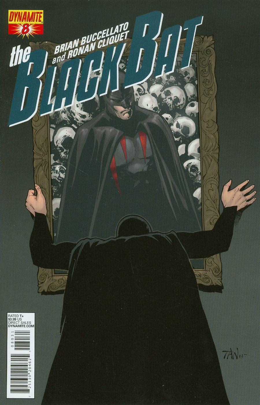 Black Bat #8 Cover B Variant Billy Tan Subscription Cover