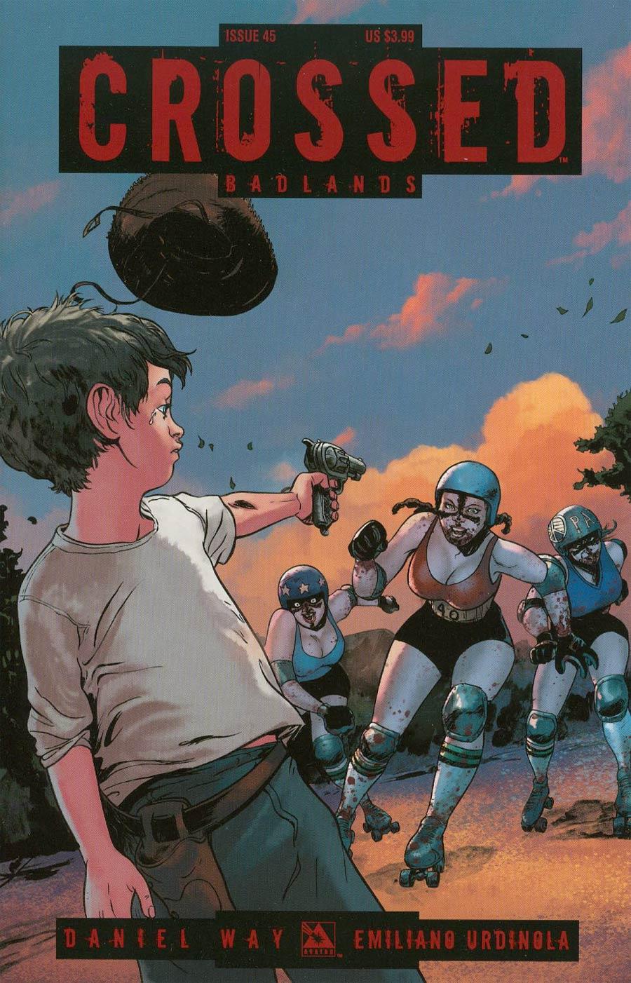 Crossed Badlands #45 Cover A Regular Cover