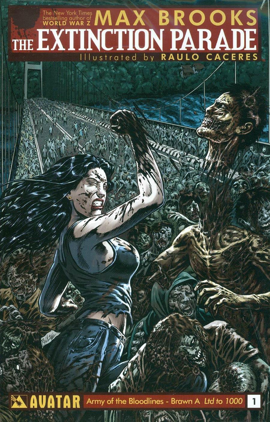 Extinction Parade #1 Cover I Army Of Brawn 3-Book Set