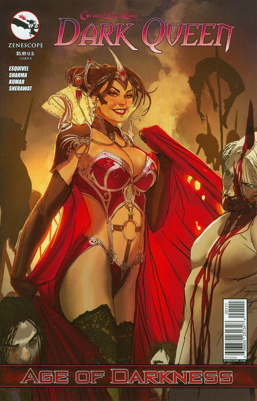 Grimm Fairy Tales Presents Dark Queen Cover A Stjepan Sejic (Age Of Darkness Tie-In)