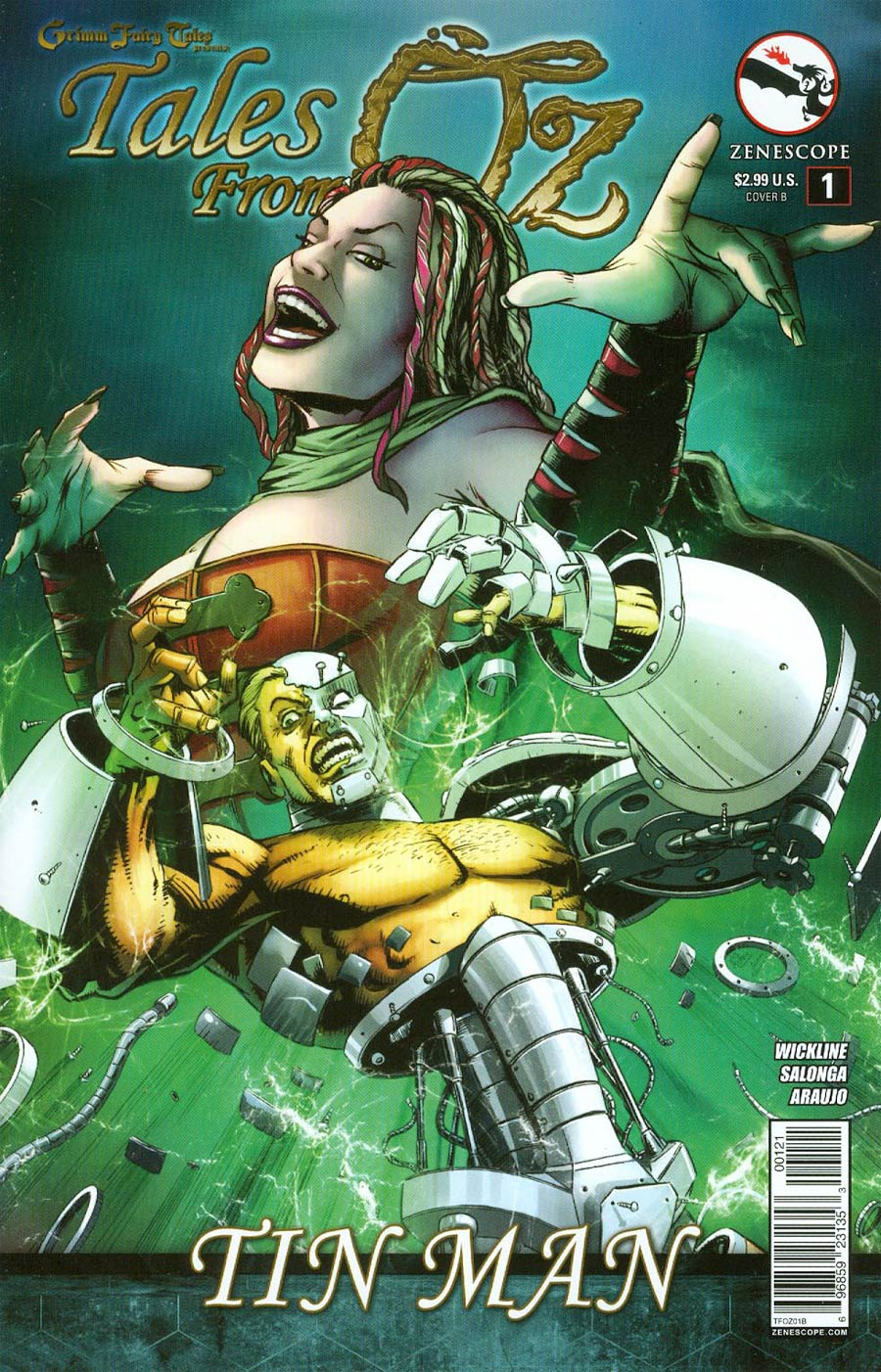 Grimm Fairy Tales Presents Tales From Oz #1 Tin Man Cover B Anthony Spay
