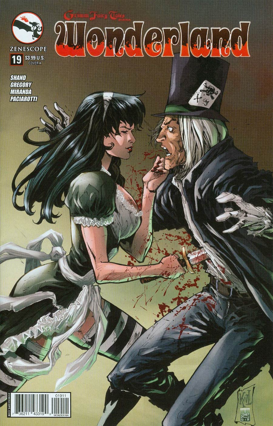 Grimm Fairy Tales Presents Wonderland Vol 2 #19 Cover A Ken Lashley