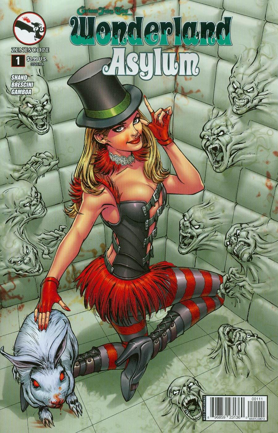 Grimm Fairy Tales Presents Wonderland Asylum #1 Cover A Abhishek Malsuni