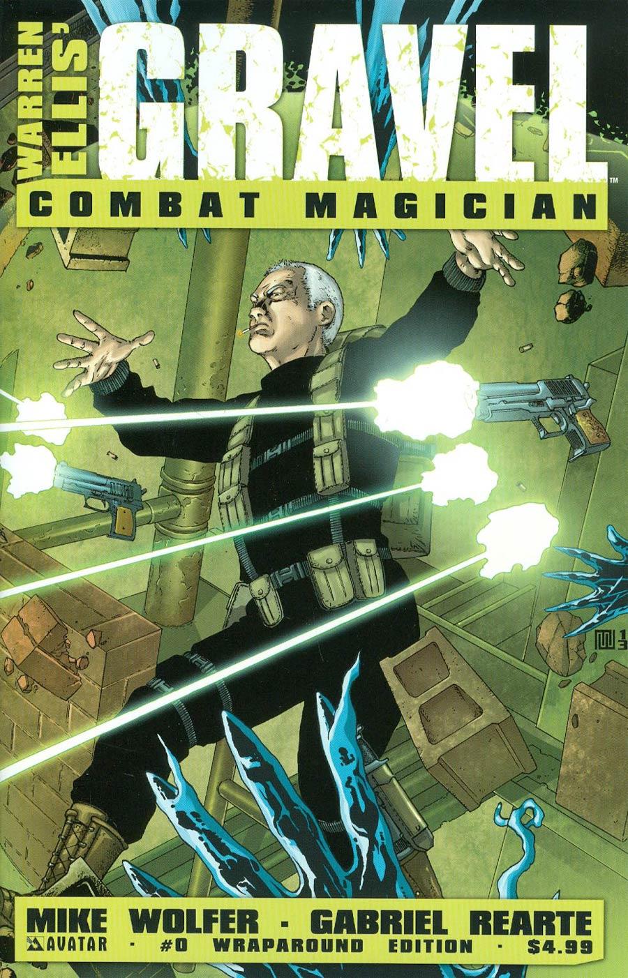 Gravel Combat Magician #0 Cover B Wraparound Cover