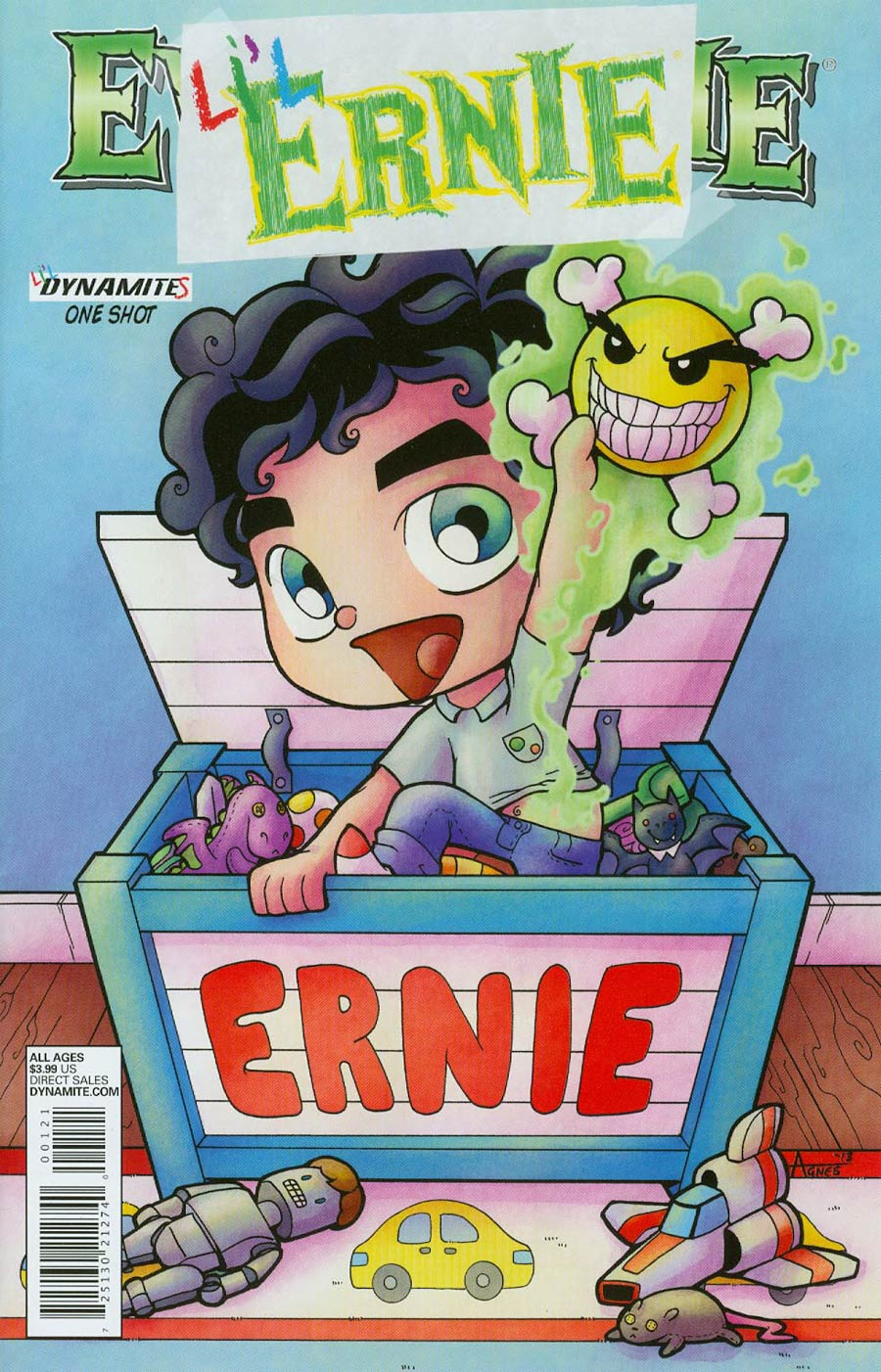 Lil Ernie #1 Cover B Variant Agnes Garbowska Subscription Cover