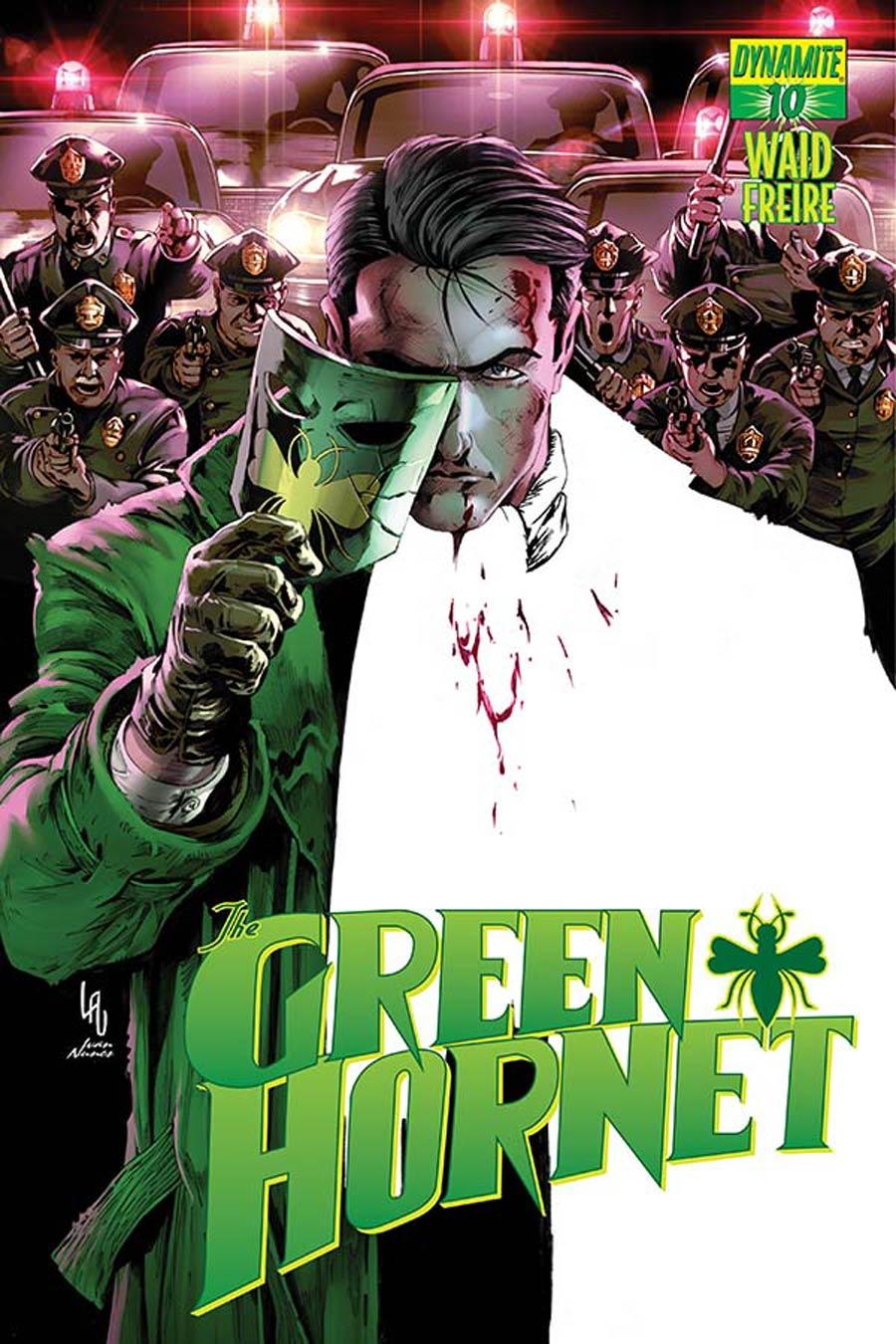 Mark Waids Green Hornet #10 Cover B Variant Jonathan Lau Subscription Cover