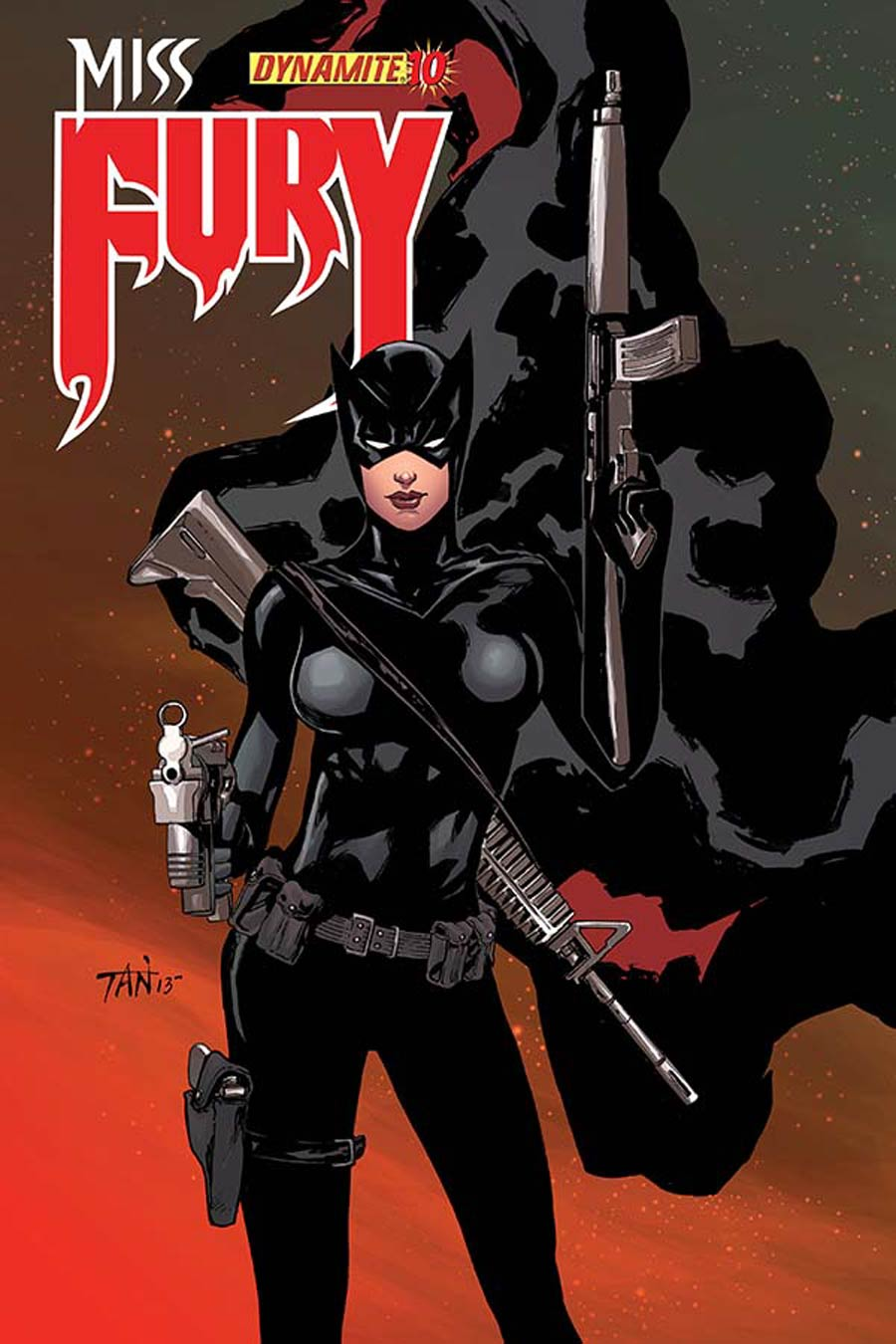 Miss Fury Vol 2 #10 Cover A Regular Billy Tan Cover