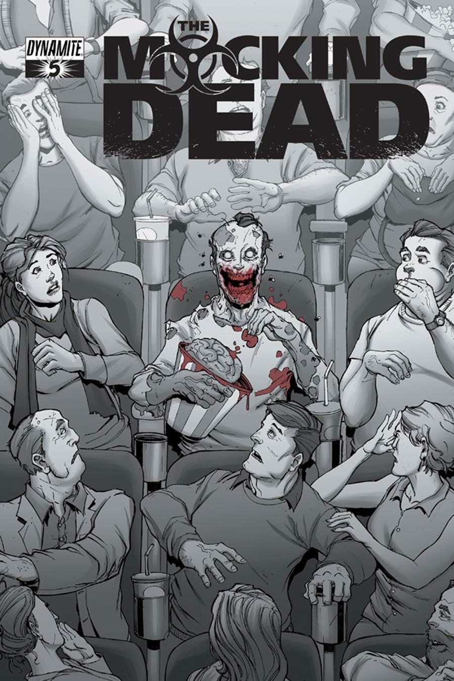 Mocking Dead #5 Cover B Variant Max Dunbar Subscription Cover