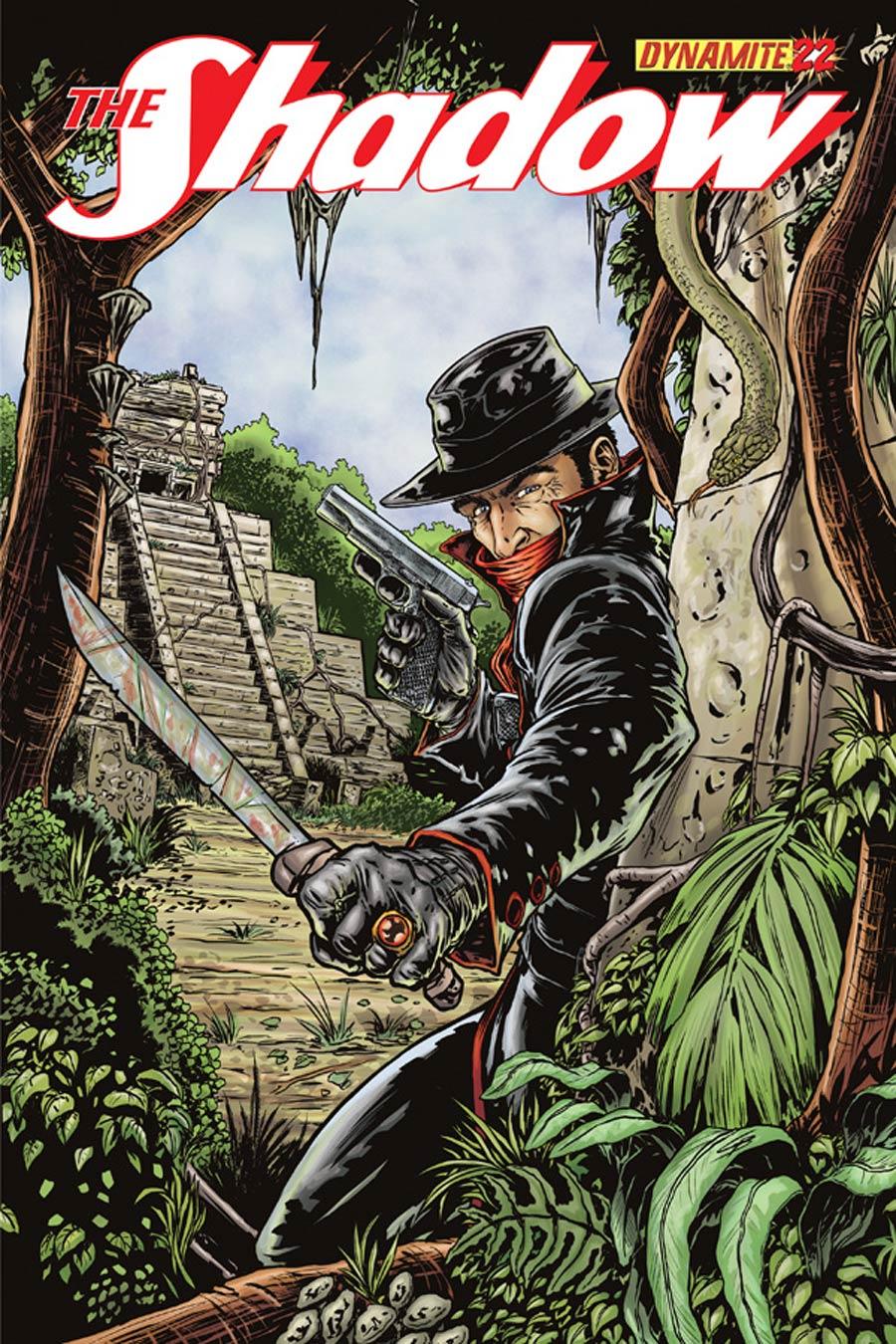 Shadow Vol 5 #22 Cover B Variant Cris Bolson Cover