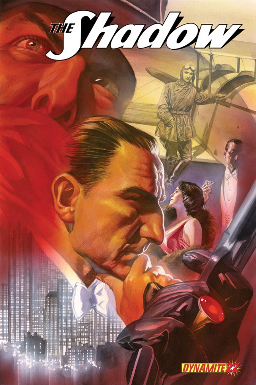 Shadow Vol 5 #22 Cover A Regular Alex Ross Cover