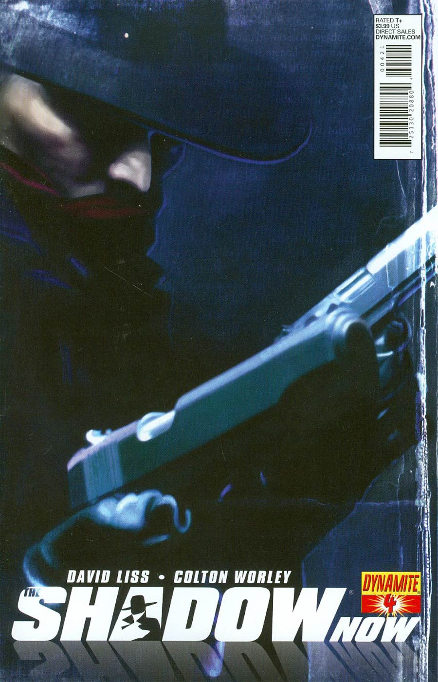 Shadow Now #4 Cover B Variant Colton Worley Subscription Cover