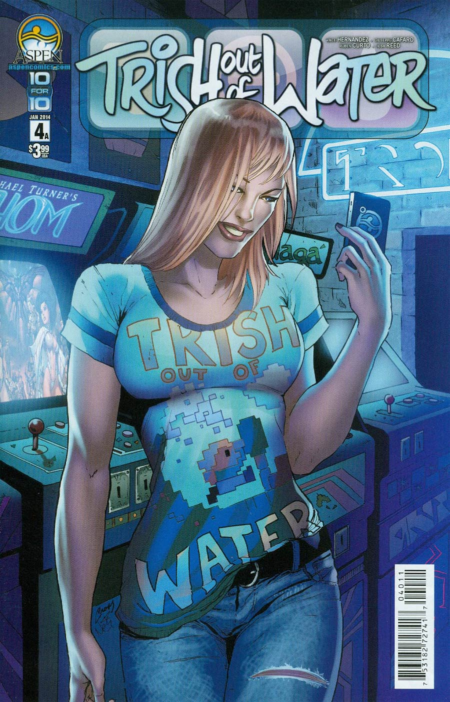 Trish Out Of Water #4 Cover A Lori Hanson