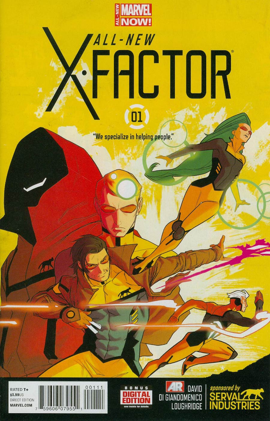 All-New X-Factor #1 Cover A 1st Ptg Regular Jared Fletcher Cover